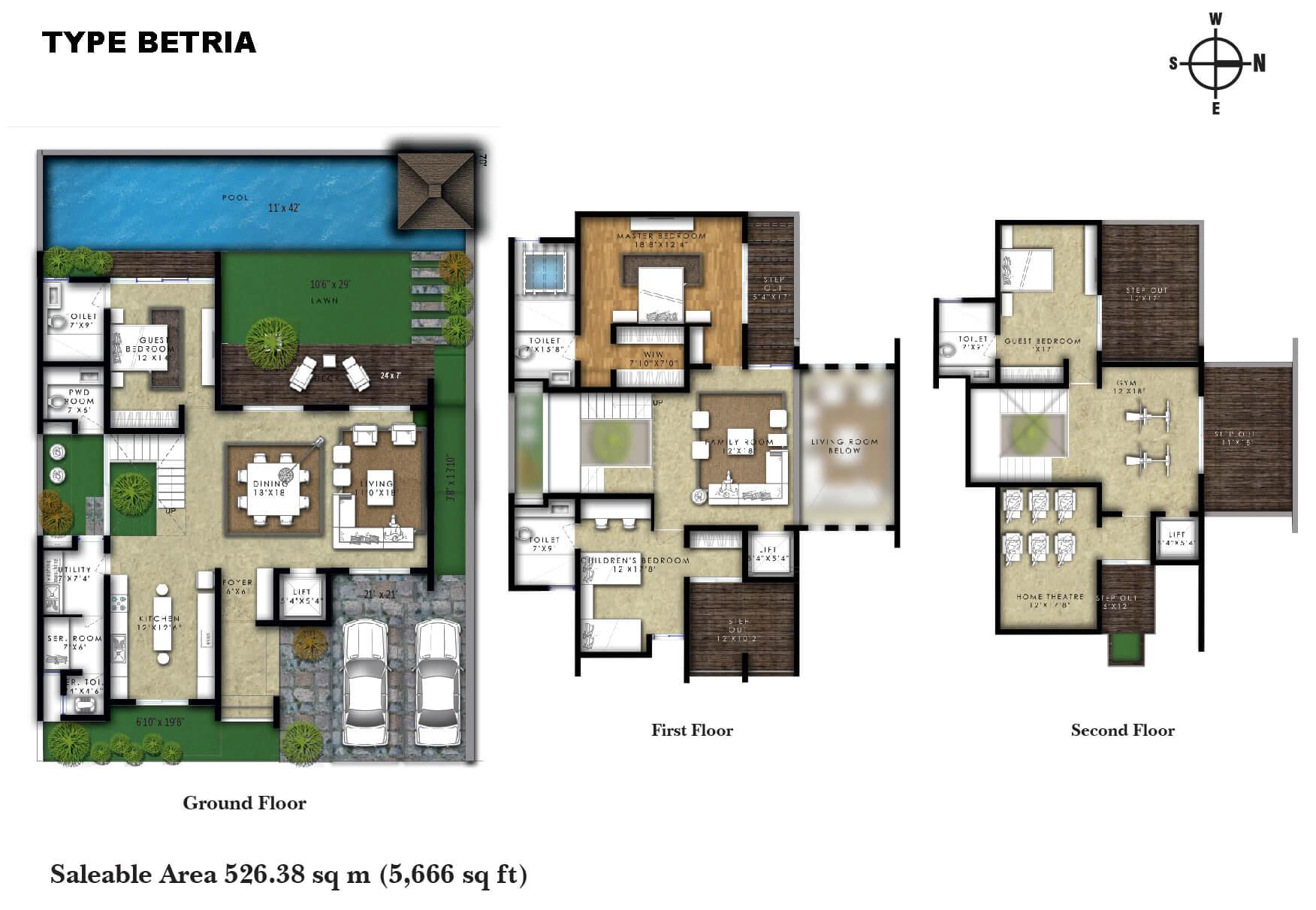 Luxury Villas In Kelambakkam Chennai For Sale One World Artha Villa Electrical Plan
